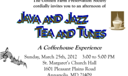 Our Second Annual Java and Jazz Event!