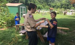 Goshen Farm Hosts Cub Scout/Boy Scout Camp Over
