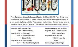 The 2019 Summer Concert Series has Kicked Off